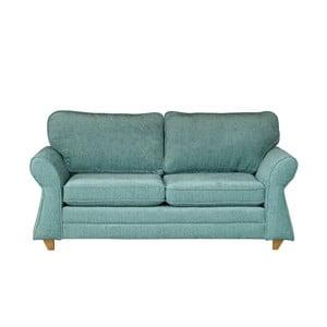 Jasnoniebieska   sofa dwuosobowa Wintech Toty Carlron