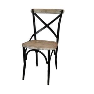 Krzesło metalowe Antic Line Chaise Antic