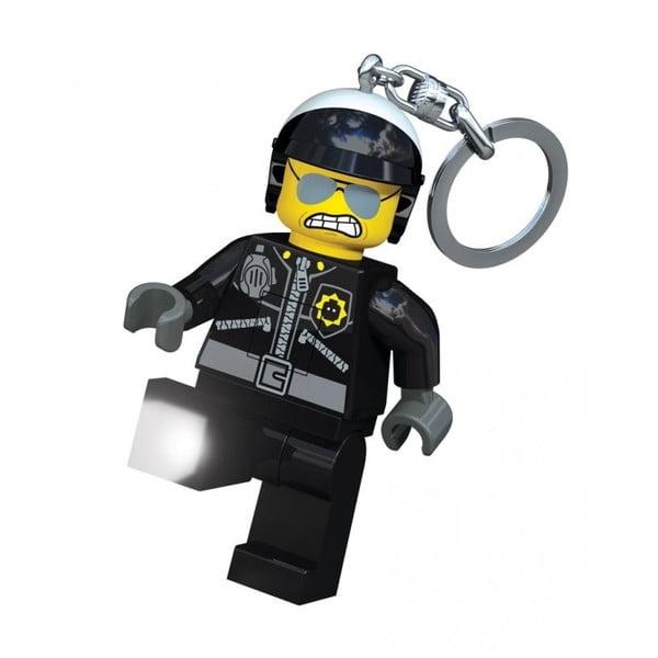 Świecący breloczek LEGO Zły policjant