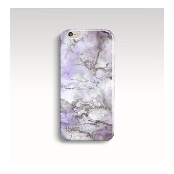 Etui na telefon Marble Lilac na iPhone 6/6S