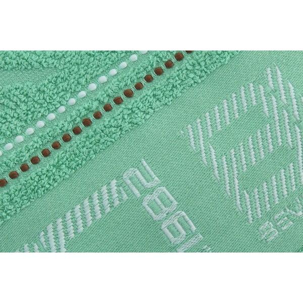 Ręcznik bawełniany BHPC 50x100 cm, miętowy
