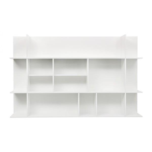 Biała mała biblioteczka TemaHome Panorama