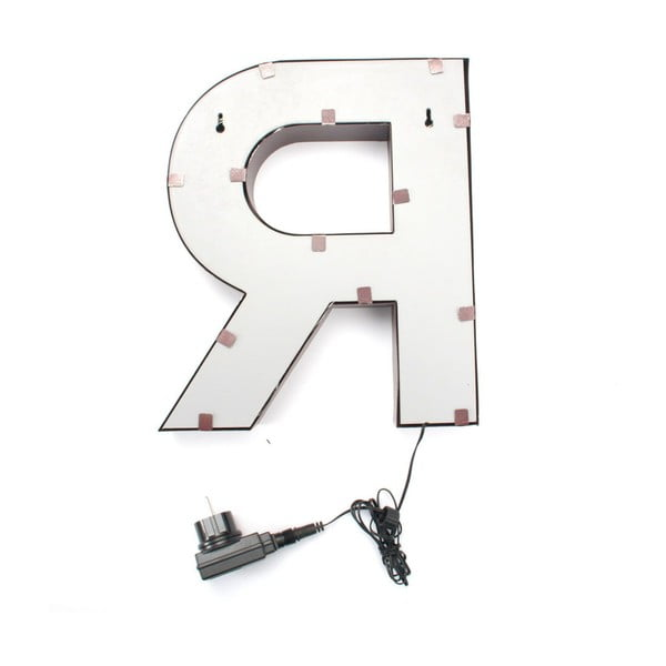Świecąca dekoracja LED Letter R