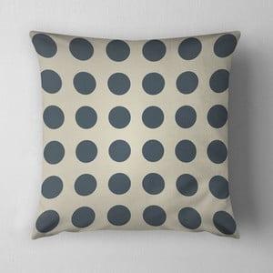 Poduszka Big Grey Dots, 43x43 cm