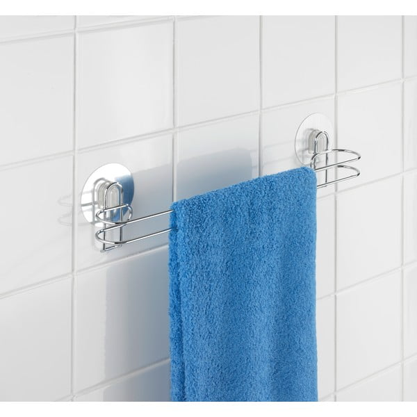 Wieszak na ręczniki z przyssawkami Static-Loc 45 cm, do 8 kg