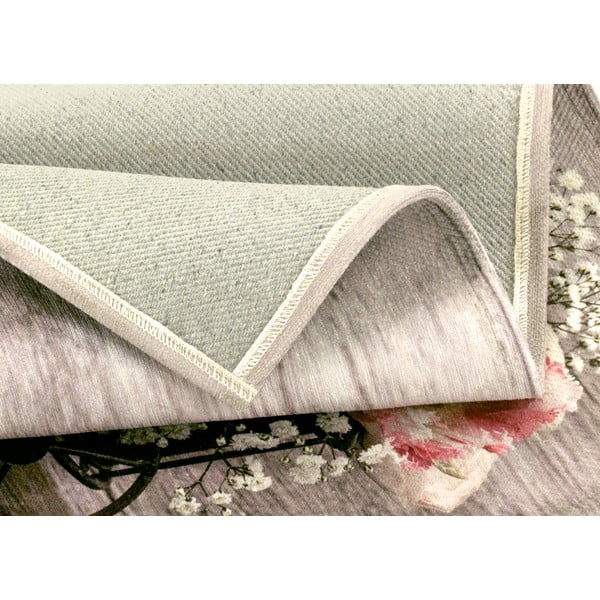 Wytrzymały dywan kuchenny Webtapetti Bouquet, 60x140 cm