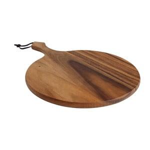 Okrągła deska do krojenia z drewna   akacjowego T&G Woodware Baroque Round