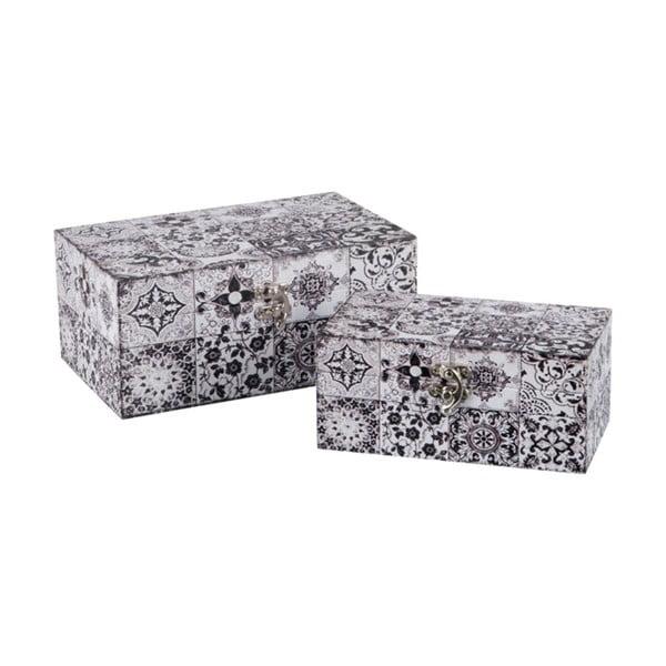 Zestaw 2 pudełek Oriental