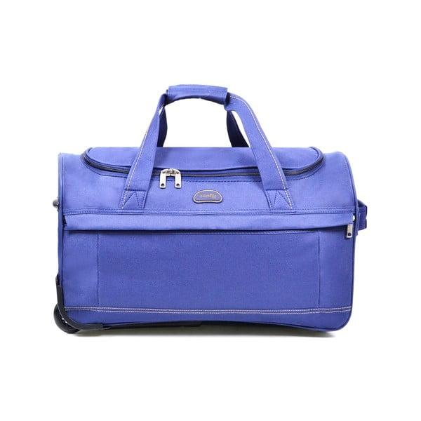 Niebieska torba podróżna na kółkach Hero,83l