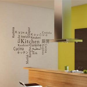 Naklejka Kitchen, Cuisine, Cozinha, Keuken