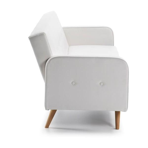 Biała sofa rozkładana La Forma Regor