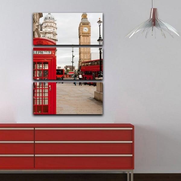 Obraz trzyczęściowy London calling