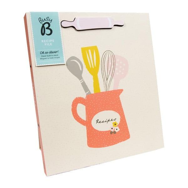 Książka przepisów Recipe Floral A4