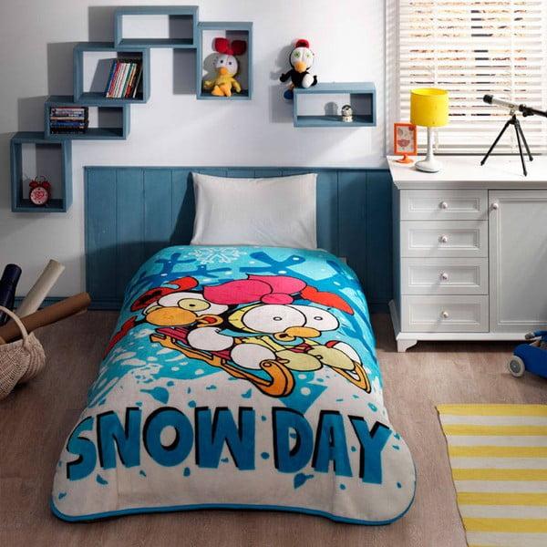 Koc Snow Day, 160x220 cm