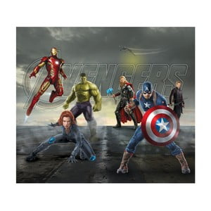 Foto zasłona AG Design Avengers II, 160x180cm