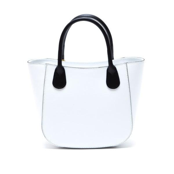 Skórzana torebka Coci, biała