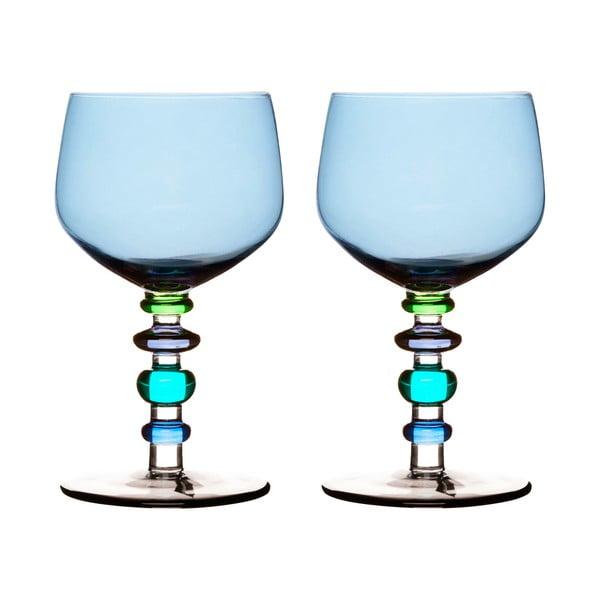 Kieliszki do wina Spectra 2 szt, niebieskie