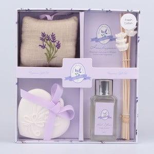 Zestaw zapachowych patyczków z glinianą dekoracją Dakls