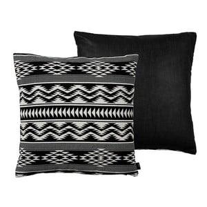 Poduszka Kelim Weave Black, 50x50 cm