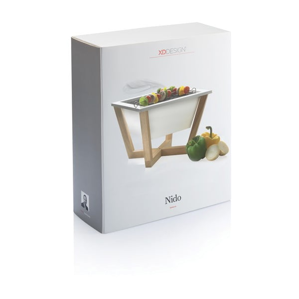 Biały grill XD Design Nido BBQ