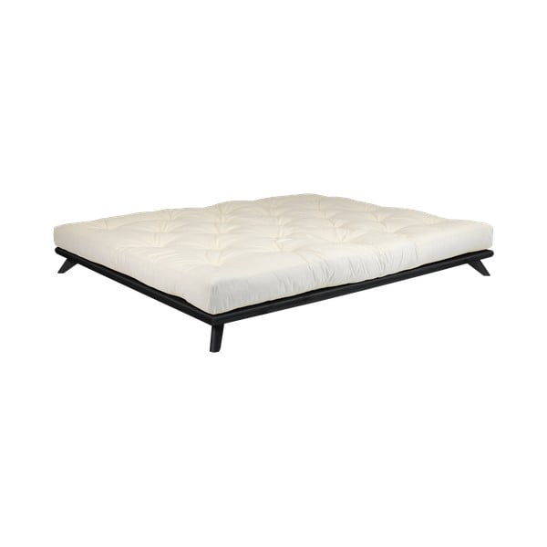 Łóżko Karup Design Senza Bed Black, 160x200 cm