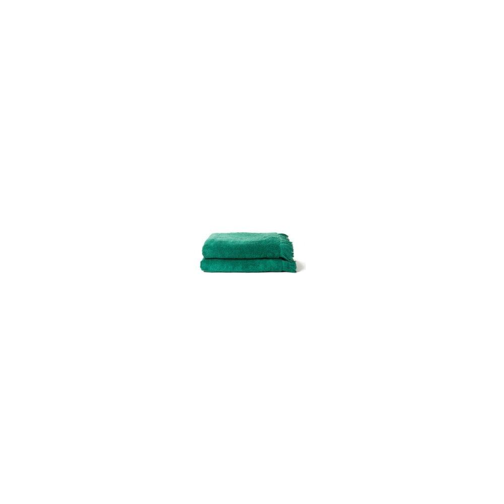zestaw 2 zielonych r cznik w k pielowych z bawe ny casa di bassi bath bonami. Black Bedroom Furniture Sets. Home Design Ideas