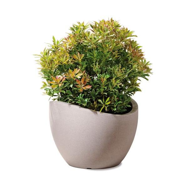 Donica ogrodowa Globe 30 cm, brązowa