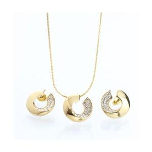 Komplet naszyjnika i kolczyków z kryształami Swarovski Elements Laura Bruni Itola