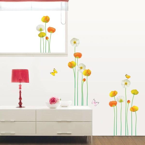 Zestaw naklejek Ambiance Fine And Elegant Flowers