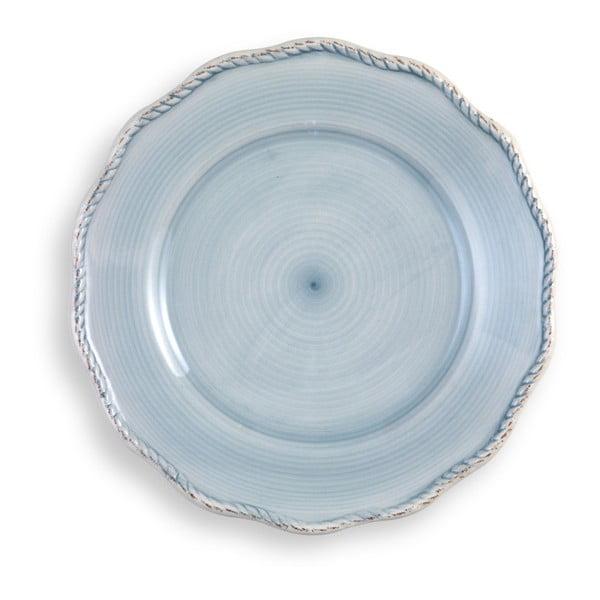 Duży jasnoniebieski  talerz Brandani