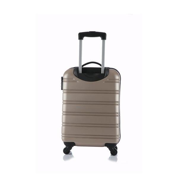 Beżowa walizka podręczna Blue Star Bilbao