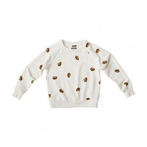 Biała bluza chłopięca Snurk Winternuts, 140