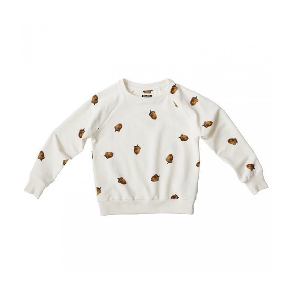 Biała bluza chłopięca Snurk Winternuts, 128