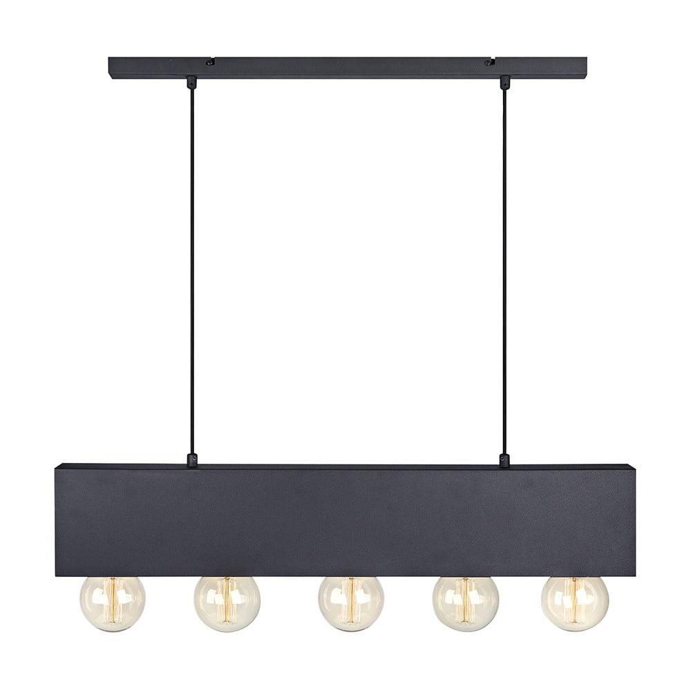 Czarna lampa wisząca Markslöjd Couture