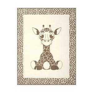 Koc Giraffe Beige, 75x100 cm