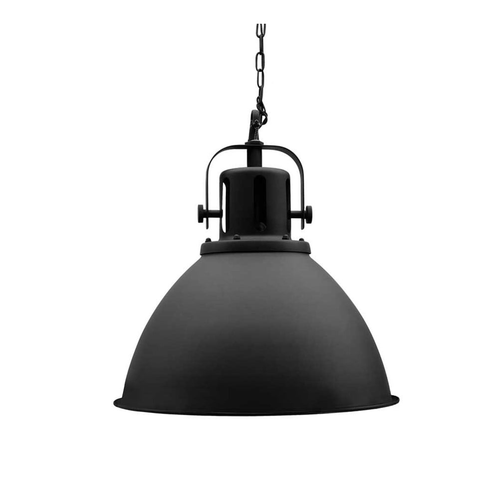 Czarna lampa wisząca LABEL51 Spot