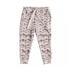 Różowe spodnie dziewczęce Snurk Twirre, 104
