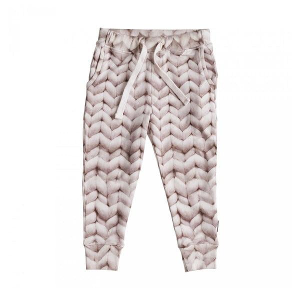Różowe spodnie dziewczęce Snurk Twirre, 128