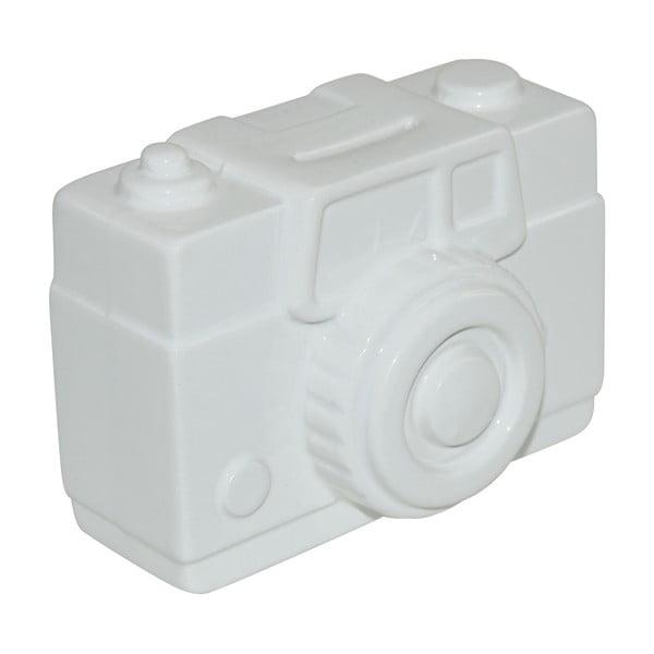 Skarbonka Camera, biała