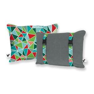 Plażowa poduszka Origama Basalt Geo