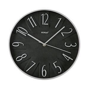 Zegar Versa Black, 30 cm