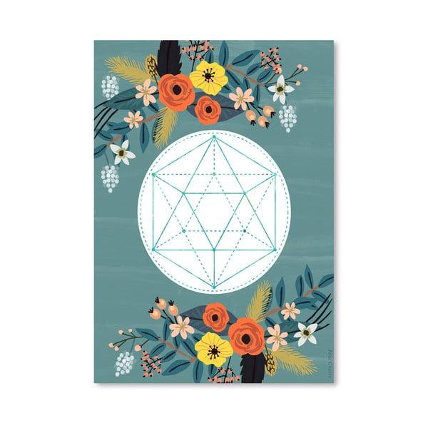 Plakat (projekt: Mia Charro) - Sacred no. 3