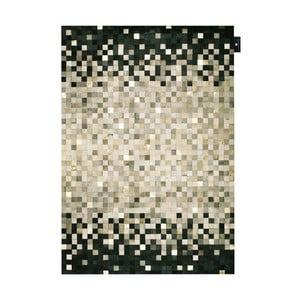 Skórzany dywan Rain Grey, 170x240 cm