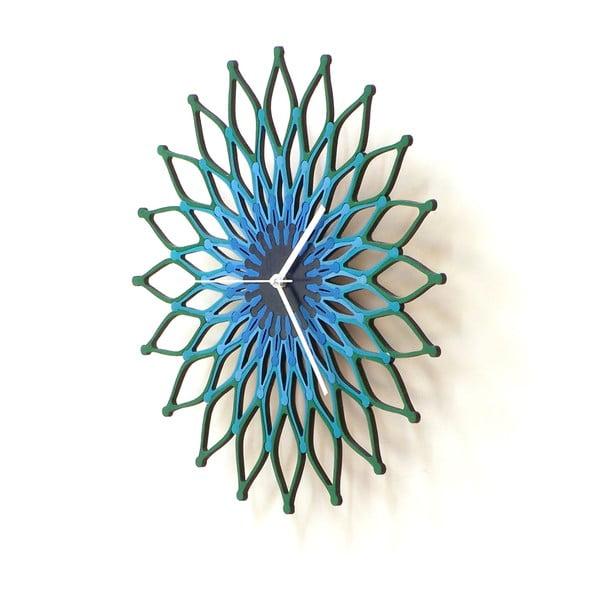 Zegar drewniany Peacock, 41 cm