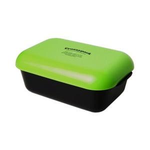 Pojemnik z wkładem chłodzącym Frozzypack Original, black/green