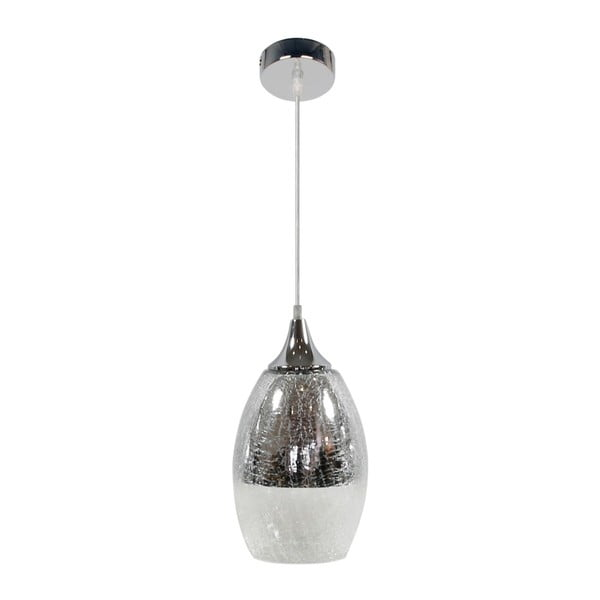 Lampa Candellux Lighting Celia, srebrna