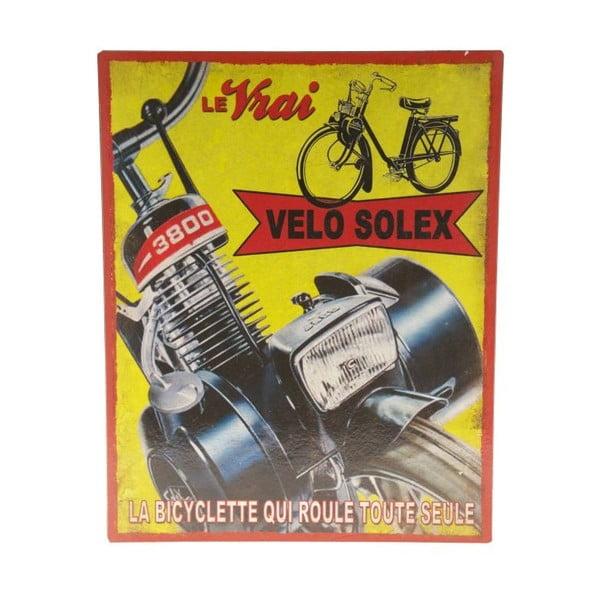Blaszana tablica  Le Vrai Velo, 22x28 cm