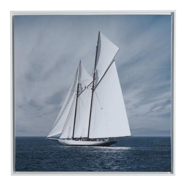Obraz na płótnie Sailing Boat 75x75