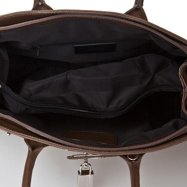 Beżowa torebka skórzana  Giorgio Costa Perugia