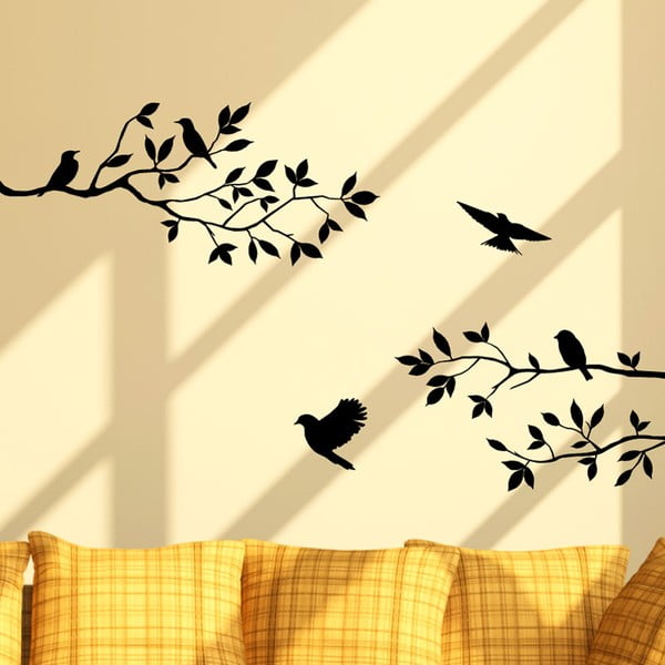 Naklejka Fanastick Birds On The Tree